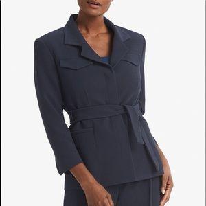 $195 MM Lafleur Emalis Jacket Nep Suiting Belt 10